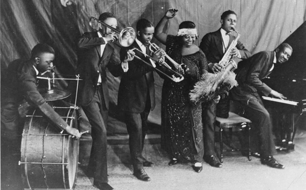 Ma Rainey's Wildcats Jazz Band with Thomas Dorsey on Piano